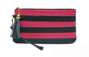 pink and black wristlet :-)