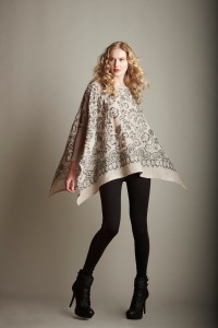 Sequin Poncho/cape
