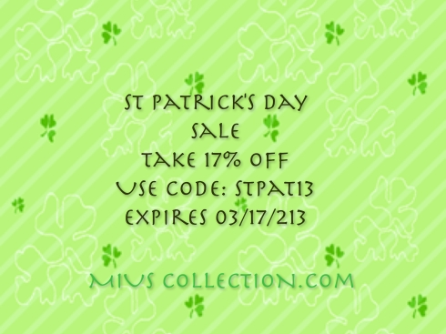 St Pattys day sale